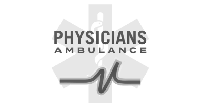 Physicians Ambulance Logo